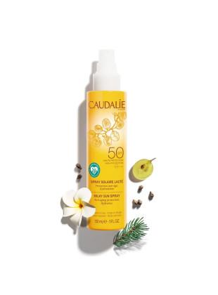 Солнцезащитный спрей-молочко для тела и лица SPF50